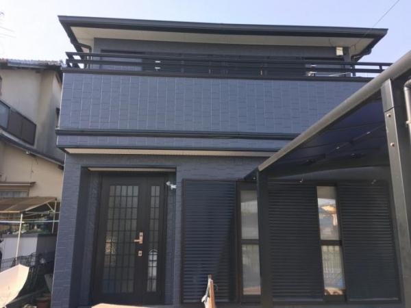 伊丹市荻野 K様 屋根・外壁防水塗装リフォーム工事