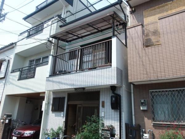 豊中市大島町 M様邸 屋根外壁塗り替えリフォーム
