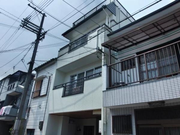 豊中市大島町 K様邸 屋根外壁塗替えリフォーム