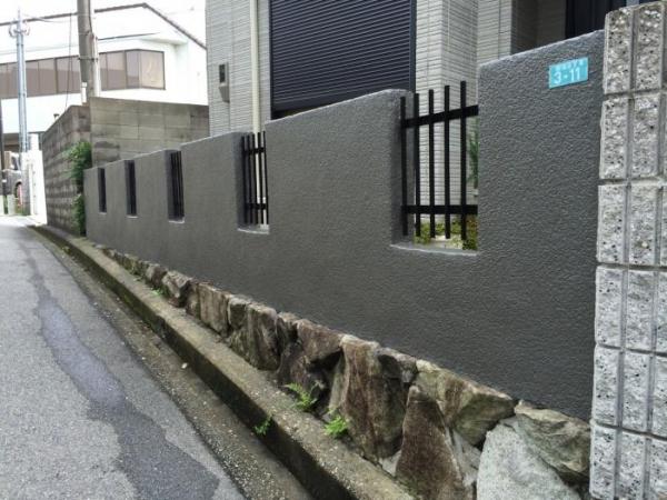 豊中市緑丘 A様邸 外構塗装工事