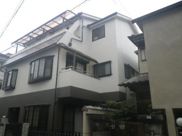 豊中市本町 T様邸 屋根外壁防水塗装工事