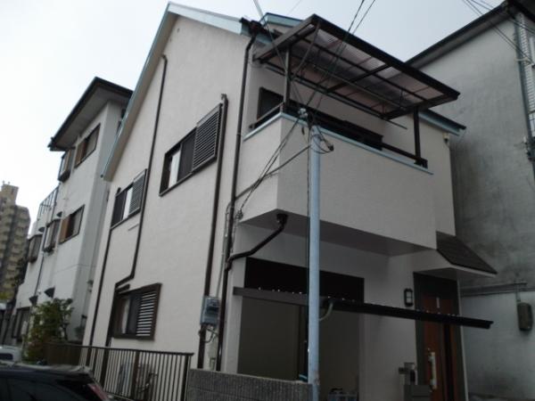 大阪府吹田市垂水町K様邸屋根・外壁塗替えリフォーム