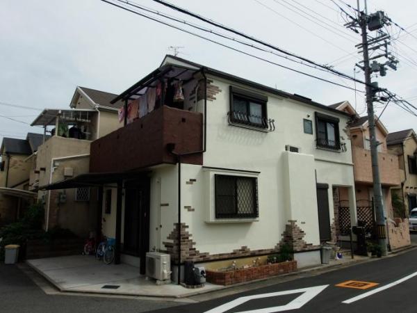 摂津市鳥飼上 E様邸屋根・外壁塗替えリフォーム