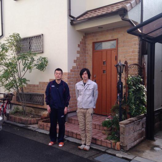 茨木市東太田 T様外壁防水塗装リフォーム工事
