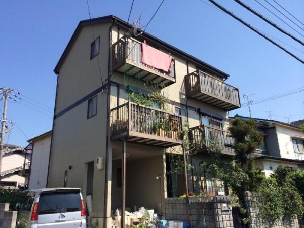 東大阪市善根寺長 M様邸屋根外壁塗装リフォーム工事