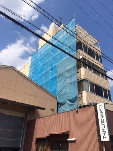 東大阪市荒本新町 Sビル屋上防水工事
