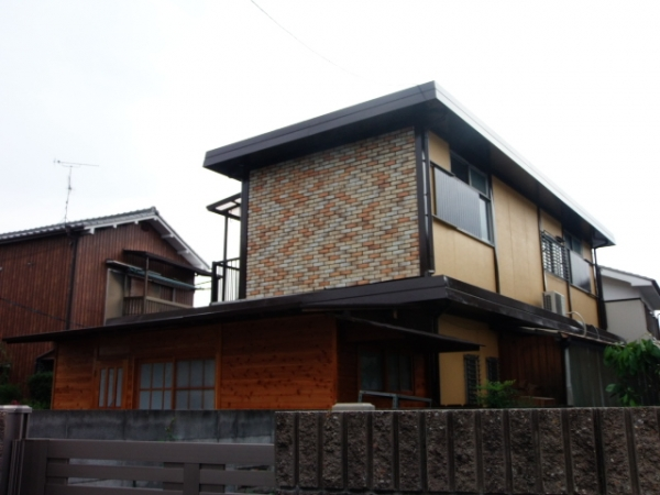 島本町東大寺 H様邸屋根・外壁塗替えリフォーム工事