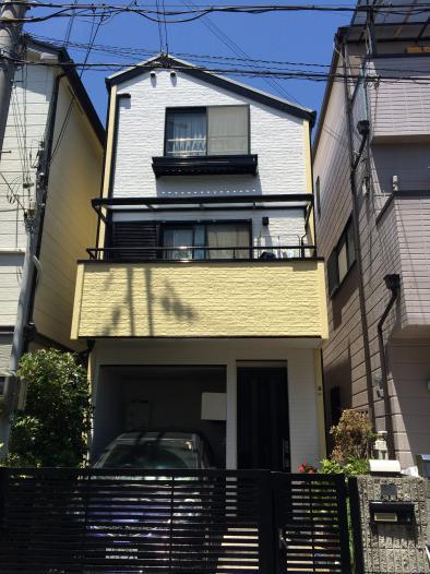 神戸市東灘区 M様邸屋根・外壁塗装リフォーム工事