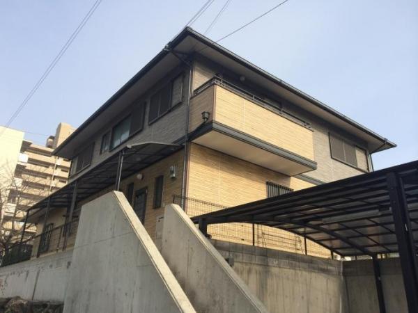 豊中市新千里南 M様邸 外壁塗替えリフォーム