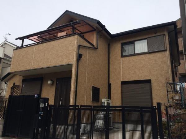 川西市小花K様邸屋根・外壁塗装リフォーム