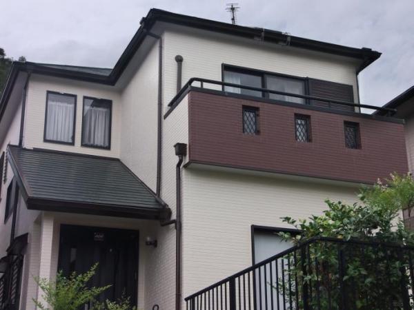 川西市大和東Y様邸屋根・外壁塗替えリフォーム