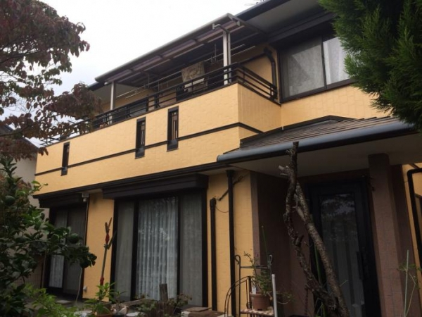 宝塚市平井山荘R様邸屋根・外壁塗り替えリフォーム