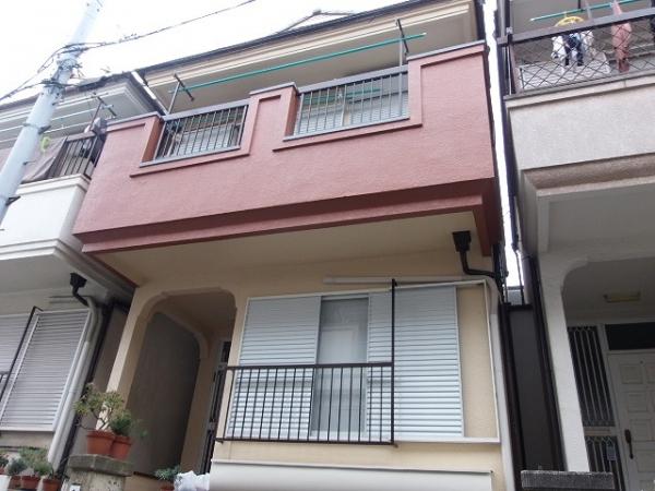 豊中市三和町T様邸屋根・外壁塗替えリフォーム
