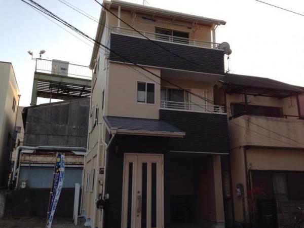 豊中市末広町 K様邸 屋根・外壁塗り替えリフォーム