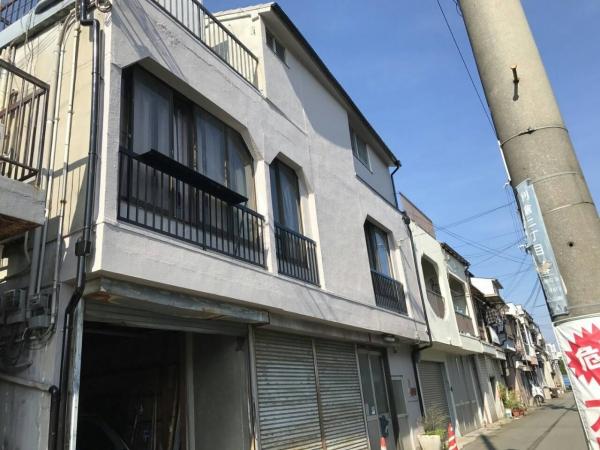 豊中市原田南O様邸外壁補修防水塗装リフォーム