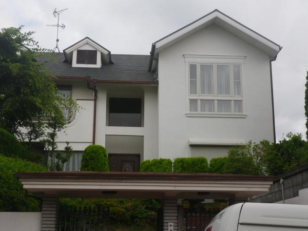 西宮市甲陽園K様邸屋根外壁防水塗装リフォーム