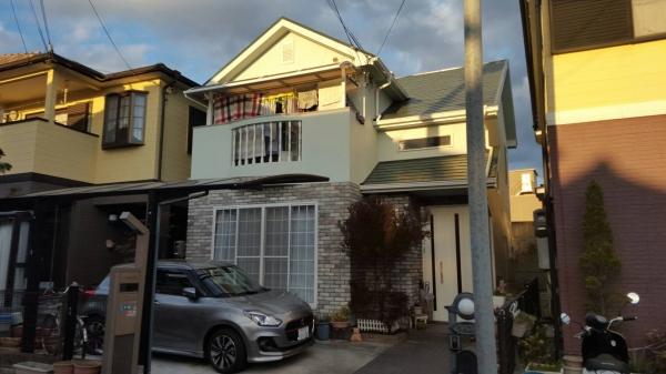 宝塚市H様邸屋根外壁防水塗装リフォーム