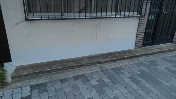 大阪市阿倍野区H様邸基礎補修リフォーム