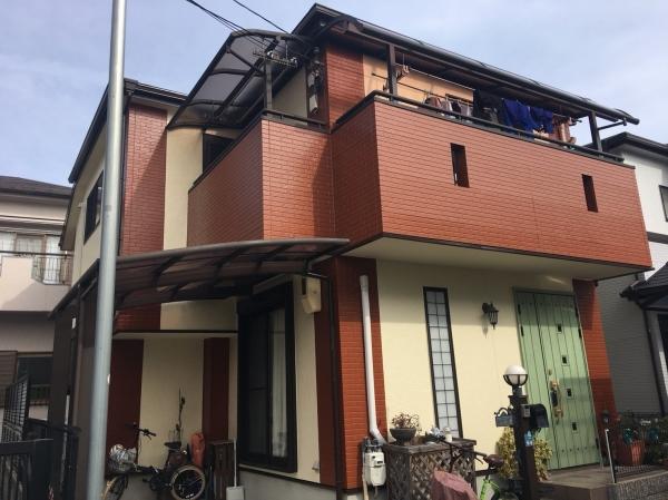 兵庫県宝塚市K様邸外壁屋根防水塗装リフォーム工事