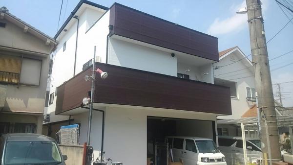 豊中市長光寺南屋根外壁防水塗装リフォーム
