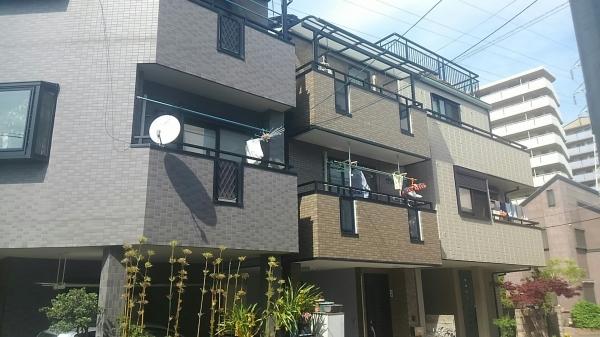 豊中市野田町K様邸外屋根壁防水塗装リフォーム