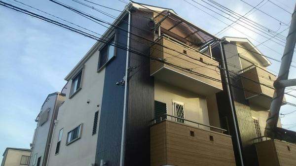 豊中市三和町T様邸屋根外壁防水塗装リフォーム