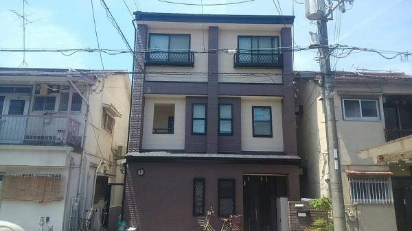 豊中市曽根南町S様邸屋根外壁防水塗装リフォーム