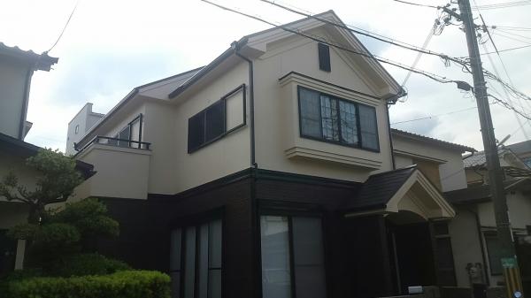 茨木市西太田町 M様邸屋根外壁防水塗装リフォーム