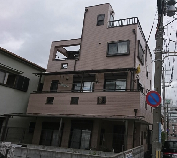 尼崎市尾浜町T様邸屋上外壁塗装防水リフォーム