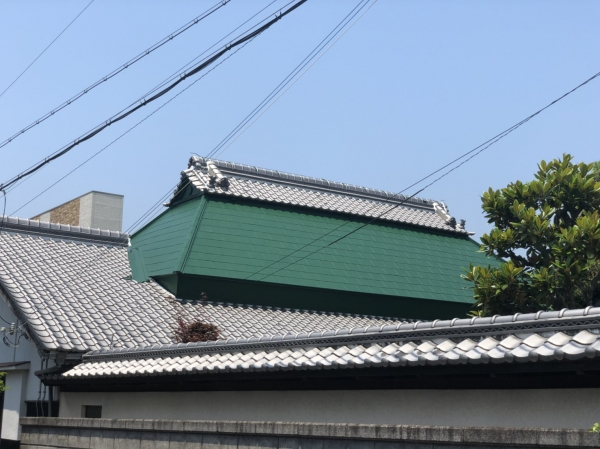 豊中市大島町G様邸屋根外壁塗装リフォーム