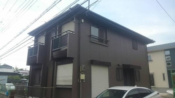 伊丹市口酒井S様邸屋根外壁塗装防水リフォーム