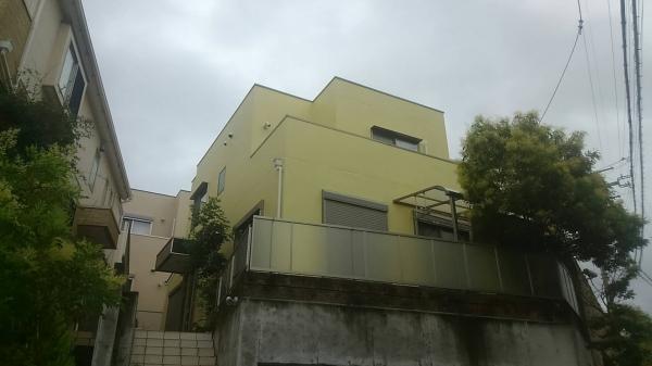 池田市五月丘T様邸屋根外壁塗装防水リフォーム