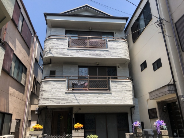 尼崎市武庫之荘本町N様邸外壁塗装防水リフォーム