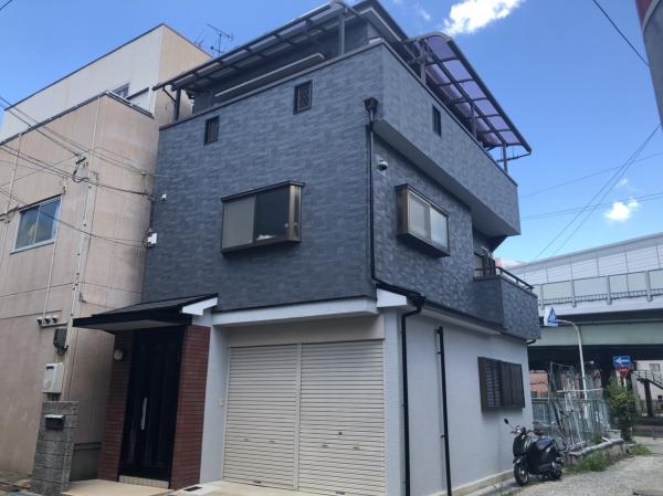 豊中市庄本町Y様邸外壁塗装リフォーム