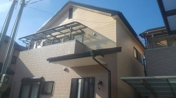 吹田市五月が丘北N様邸屋根外壁防水塗装リフォーム