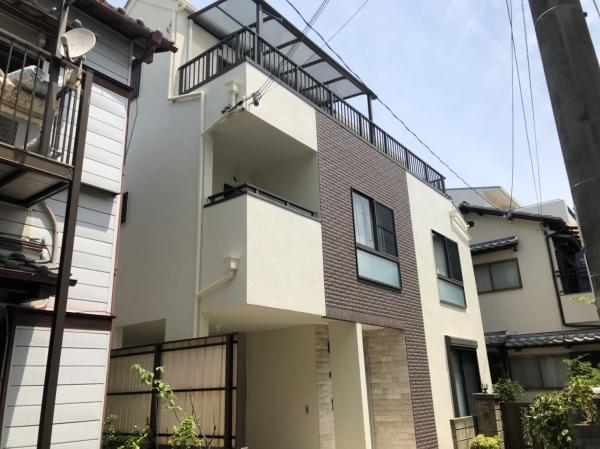 川西市寺畑N様邸屋根外壁塗装防水リフォーム