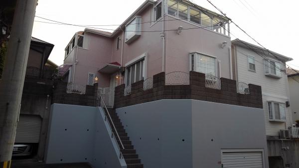 箕面市半町K様邸外壁屋根防水塗装リフォーム