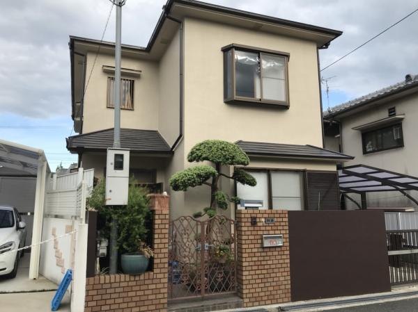 豊中市宝山町M様邸屋根外壁塗装防水リフォーム