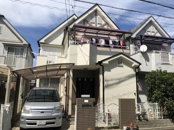 豊中市豊島南M様邸屋根外壁塗装防水リフォーム