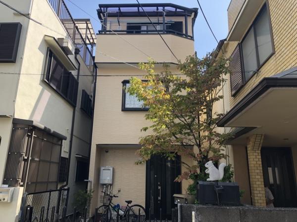 豊中市服部寿町H様邸屋根外壁塗装防水リフォーム