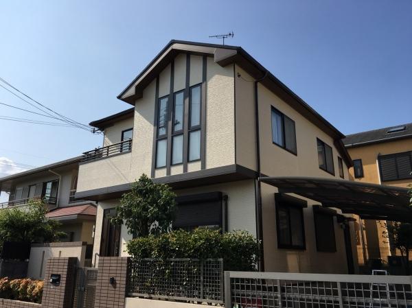豊中市上野西N様邸屋根外壁塗装防水リフォーム