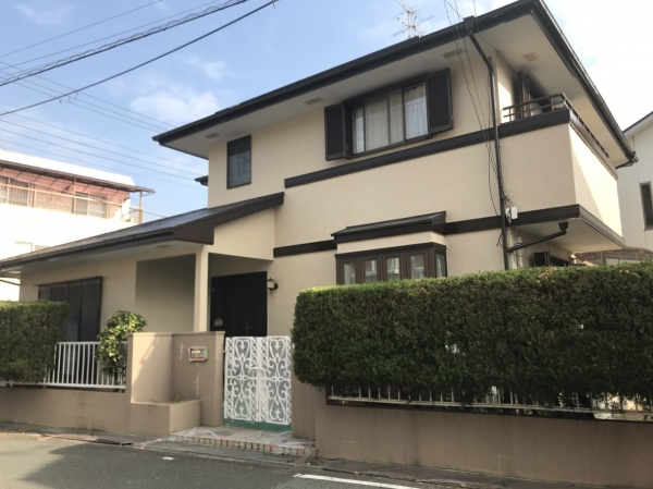 尼崎市久々知S様邸屋根外壁塗装防水リフォーム
