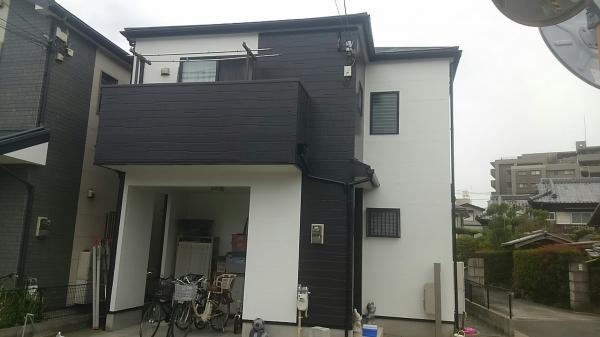 吹田市山田東S様邸外壁塗装防水リフォーム