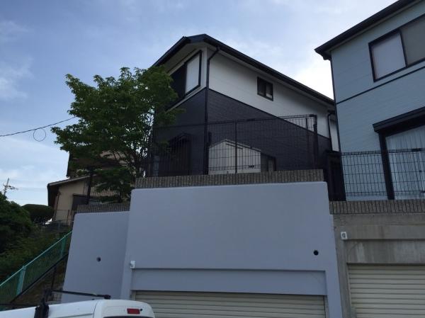 川西市O様邸屋根外壁塗装防水その他リフォーム