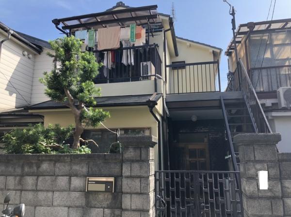豊中市豊南町U様邸外壁塗装防水リフォーム
