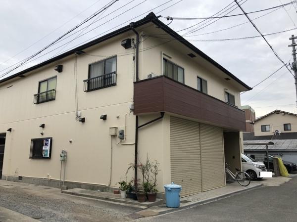大阪府豊中市庄本町A様邸屋根外壁塗装防水リフォーム