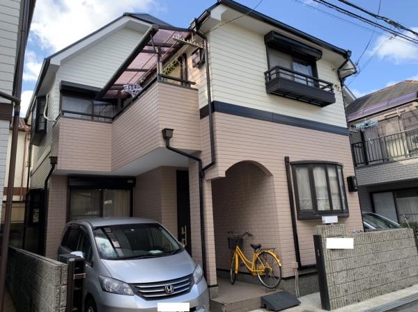 兵庫県西宮市樋ノ口町M様邸屋根外壁塗装防水リフォーム
