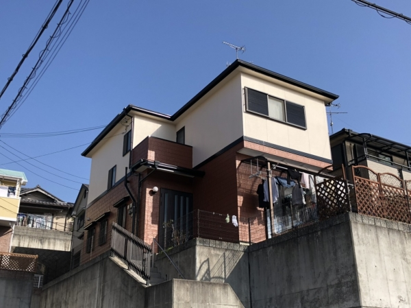 川西市K様邸屋根外壁塗装防水リフォーム