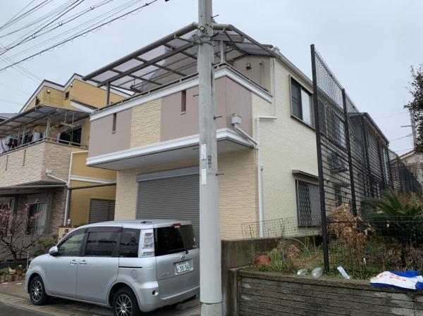 伊丹市U様邸屋根外壁塗装防水リフォーム