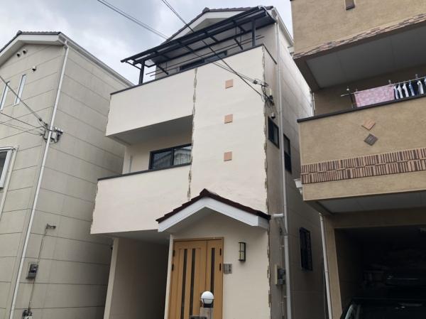 豊中市双葉町I様邸屋根外壁塗装防水リフォーム